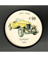 1929 DUPONT Jell-O Picture Wheel #99 - $5.00