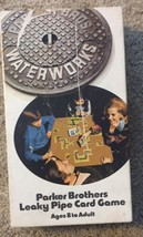 Parker Brothers Waterworks Leaky Pipe Plumber Card Game 1972  Replacement Pieces - $12.16