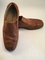 Johnston & Murphy Brown Leather Slip-On Loafers Men's Size 9 M - $33.16 CAD