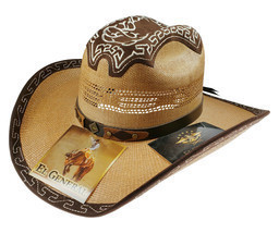 Men's Western Hat El General Sombrero Chihuahua Bangora Brown - €41,49 EUR