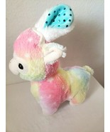 Walmart Easter Llama Bunny Ears Plush Stuffed Animal Pastel Rainbow Stars  - $29.68