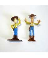 2 Disney Pixar Toy Story Woody Figures -Great for Cake Toppers! - $9.50