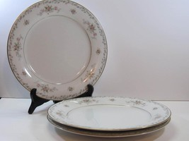 "3 Noritake Barton 10.5"" Dinner Plates 6305 Discontinued Pattern Floral Lot of 3 - $15.83"