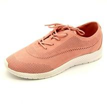Easy Spirit Womens Gerda 2 Sneaker Size 9M Light Pink Perforated Cushion NEW - $25.02
