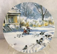 Knowles Natures Child Collector Plate Faithful Friends  Mimi Jobe 1990 4... - $17.77