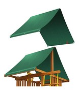 BenefitUSA Replacement Canopy Cover for Backyard Wood Playset Swing Set ... - $27.96