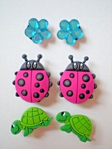 s Shoe Charm Clog Plug Embellishment Accessories Bracelet Turtles - $9.99