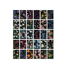 Post Cards Flowers and Plants Pattern Greeting Cards Set of 30 - £11.83 GBP