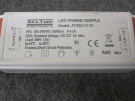 ALLTOP LED POWER SUPPLY AT36U12-01 NEW image 2