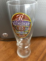 """9"""" Drinking Glass Rotherham Red Champion Ale Beer  - $34.64"""