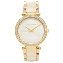 Michael Kors Parker mk6400 White Acetate Women's Watch - $169.00