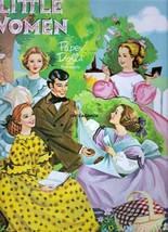 VINTAGE 1960 LITTLE WOMEN PAPER DOLLS~#1 REPRODUCTION~TOTALLY UNCUT~NOST... - $18.75