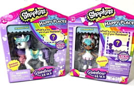 Shopkins Happy Places Rainbow Beach  Mystabella Lil' Shoppie w/ Rainbow Dreamer - $28.95