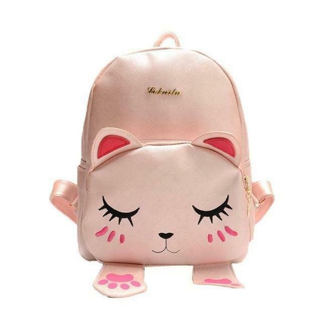 Cat bag Students school backpack for teenagers girls Back Pack School Backpacks