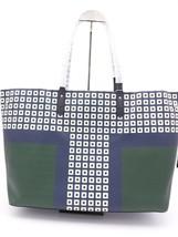 NWT Tory Burch Kerrington Square Tote Green Milano Shoulder Bag New  $298 image 2