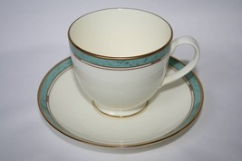 Pfaltzgraff  - Patina -  Bone China *3* Tea Cup and Saucer Sets  EUC  #1486 - $30.00