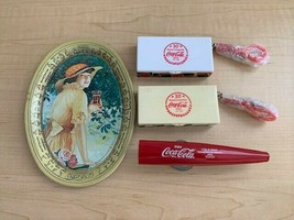 Coca Cola Gift Pack - Mini Tray, Kazoo, Travel Chess & Checkers - $11.88