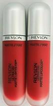 2 x Revlon Ultra HD Matte Lipcolor - 635 Passion - 2 Total - $10.95