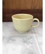 FIESTA POST 1986 BUTTER PALE YELLOW COFFEE Mini CUP HOMER LAUGHLIN FIEST... - $16.82