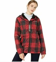 Rocawear Women's Black & Red Plaid Hooded Jacket Sz XL -NEW WITH TAGS- STORE image 1
