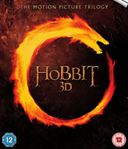 Hobbit, The Motion Picture Trilogy (Blu-ray 3D + Blu-ray) UK Import