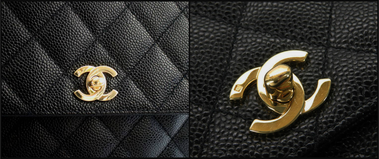 CHANEL JUMBO Black CAVIAR Leather TOP HANDLE Flap Bag 24k GH AUTHENTICATED!