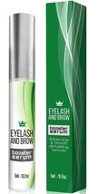 Natural Eyelash Growth Serum Lash Booster & Eyebrow Enhancing Grow Thick... - $14.46