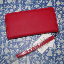 Disney Parks Minnie Mouse Bow Lg Wallet/ Wristlet NWT Pink image 5