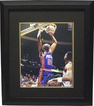 John Salley signed Detroit Pistons 8X10 Photo Custom Framed - £56.53 GBP