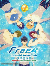 Free! Iwatobi Swim Club DVD Season 1-3 + OVA English Dub - Ship From USA
