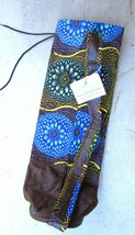 Proud Journey Yoga Mat Bag - Hand Crafted in Nigeria - $44.55