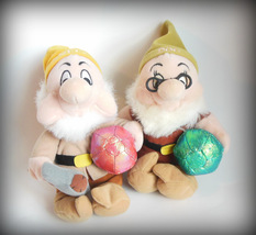 Snow White 7 Dwarfs Doc Sneezy Lot Exclusively for the Disney Store Stuf... - $14.95