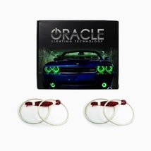 Oracle Lighting CH-MA0812-G - Chevrolet Malibu LED Halo Headlight Rings - Green - $152.15
