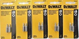 "Dewalt DW2204 #0 1"" Square Recess Bit Tips 5 Packs - $4.95"