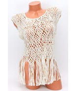Polo Ralph Lauren Woman's Cream Crochet Top $245 NWT - $88.20