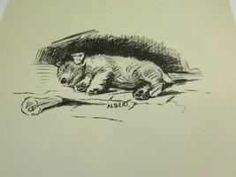 Lucy Dawson 1937 Sealyham Dog Print Vintage 51779 Albert - $19.79