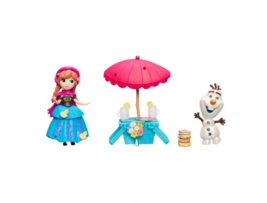 Hasbro Disney Frozen Little Kingdom Summer Picnic Toy Set With Carrying Case - $15.84