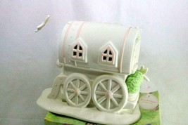 Dept 56 Snowbunnies My Woodland Wagon At Dragon Fly Hollow Springtime St... - $20.69