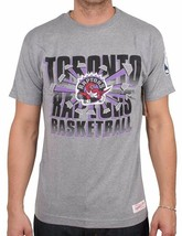 Mitchell & Ness Mens Basketball NBA Toronto Raptor Backboard Breaker T-Shirt NWT