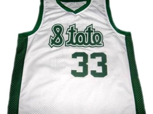 Magic johnson  33 michigan state basketball jersey white 1