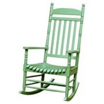 Outdoor Rocking Chair Acacia Wood Patio Garden Backyard Comfort Relaxing... - $134.99
