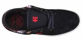 Etnies Hommes Noir/ Fauve / Rouge Cuir Daim Jameson 2 Basse Skateboard Shoes NW image 6