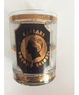 Decorative 22 Gold Caesars Glass By Culver - Made In USA - $45.00