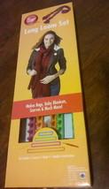 BOYE LONG LOOM SET - 4 LOOMS - MAKES BAGS, BABY BLANKETS, SCARVES, & MUC... - $9.89