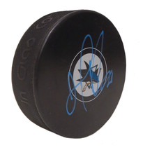 San Jose Sharks Joel Ward signed Autographed SJ Logo Hockey Puck Proof COA - $69.29
