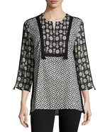 Figue Milan 3/4-Sleeve Cotton Tunic Top Size Small NWT $425 - $232.64