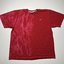 Vintage Y2K Nike Small Swoosh Check Embroidered T Shirt Men's size Large... - £25.14 GBP