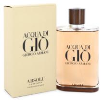 Giorgio Armani Acqua Di Gio Absolu 6.7 Oz Eau De Parfum Cologne Spray image 1
