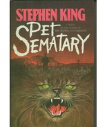 VINTAGE 1983 Stephen King Pet Sematary Hardcover Book - $49.49