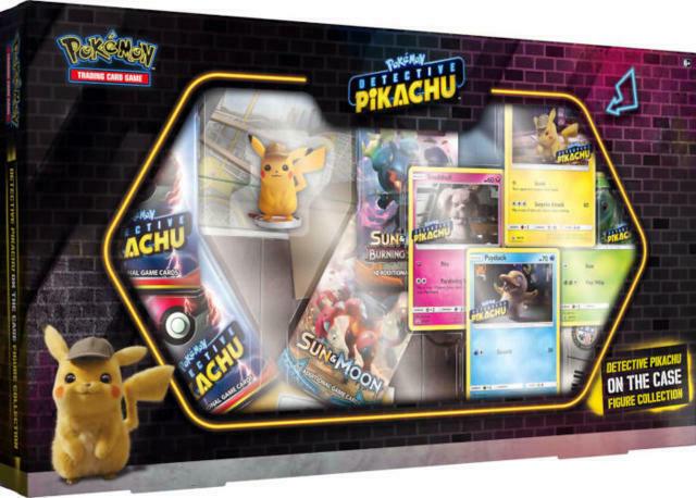 Pokemon TCG Detective Pikachu On the Case Box Figure Collection
